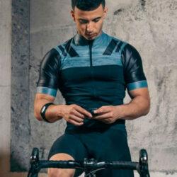 wahoo tickrfit fascia cardio braccio professione ciclismo