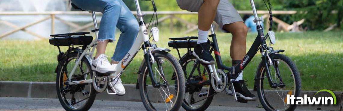 italwin ebike professione ciclismo