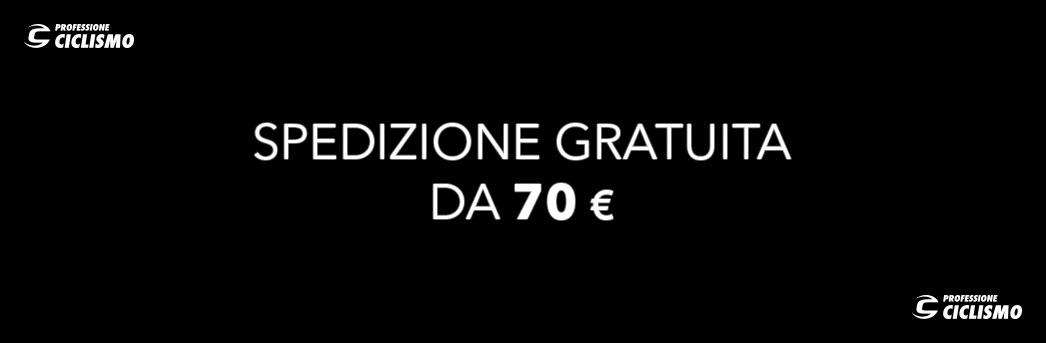 spedizione gratuita sopra i 70 euro professione ciclismo