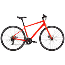 cannondale quick 5 acid red professione ciclismo