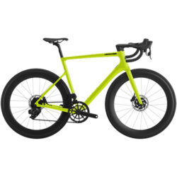 cannondale supersixevo carbon disc 105 bio lime professione ciclismo