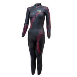 blueseventy fusion women triathlon wetsuit professione ciclismo