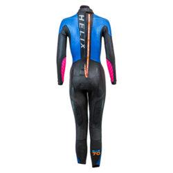 blueseventy helix women triathlon wetsuit professione ciclismo