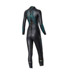 blueseventy reaction women triathlon wetsuit professione ciclismo