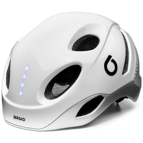 briko e one led white casco ciclismo professione ciclismo