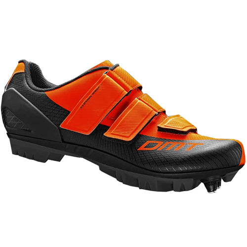dmt m6 arancio fluo professione ciclismo